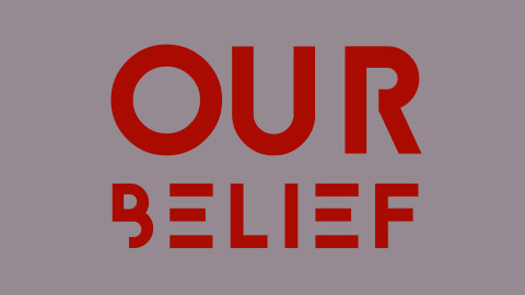 Image for: Our belief
