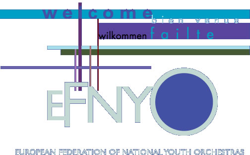 Logo of EFNYO - European Federation of National Youth Orchestras