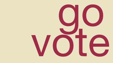 "Image for: ""Go Vote – Bring A Friend"" Campaign"
