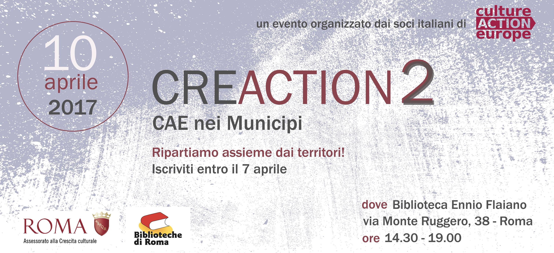 CRE•ACTION 10 Aprile